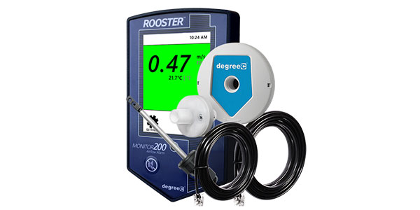 BACnet controlled HVAC monitor accepts side-flow sensor for negatively pressurized cabinets, insertion probe for exhaust ducts and inline retrofit design to replace legacy airflow alarm monitors.
