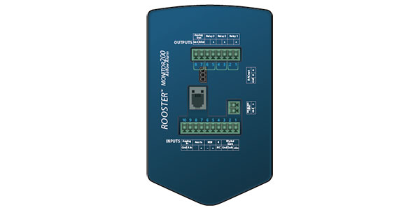 BACnet® controlled monitor allows for ease of integration into building automation and control systems.