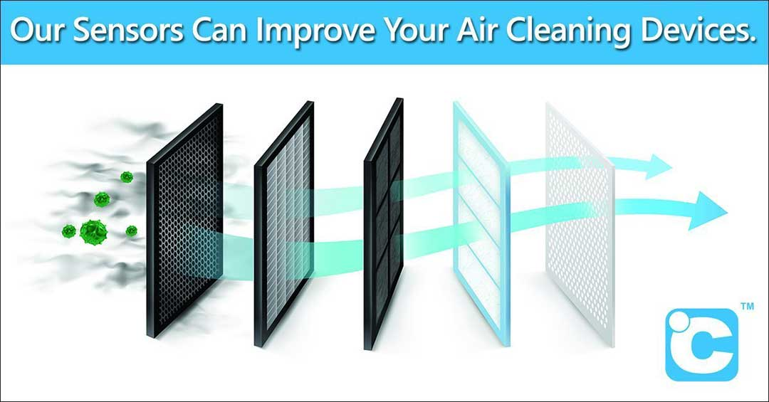 airflow monitoring for cleaner air