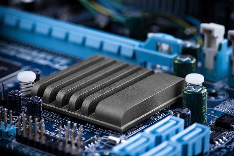 airflow testing cpu electronics