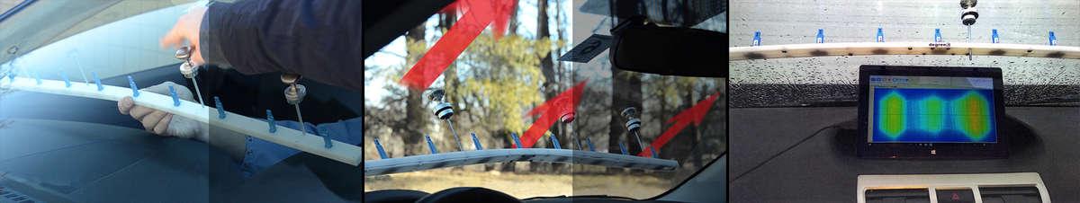 automotive air velocity sensor applications