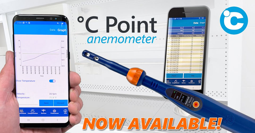 degree controls c point anemometer accuracy