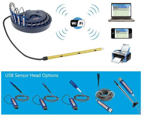c port wifi network with sensors