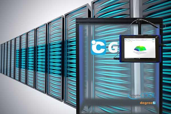 data center server racks with c grate