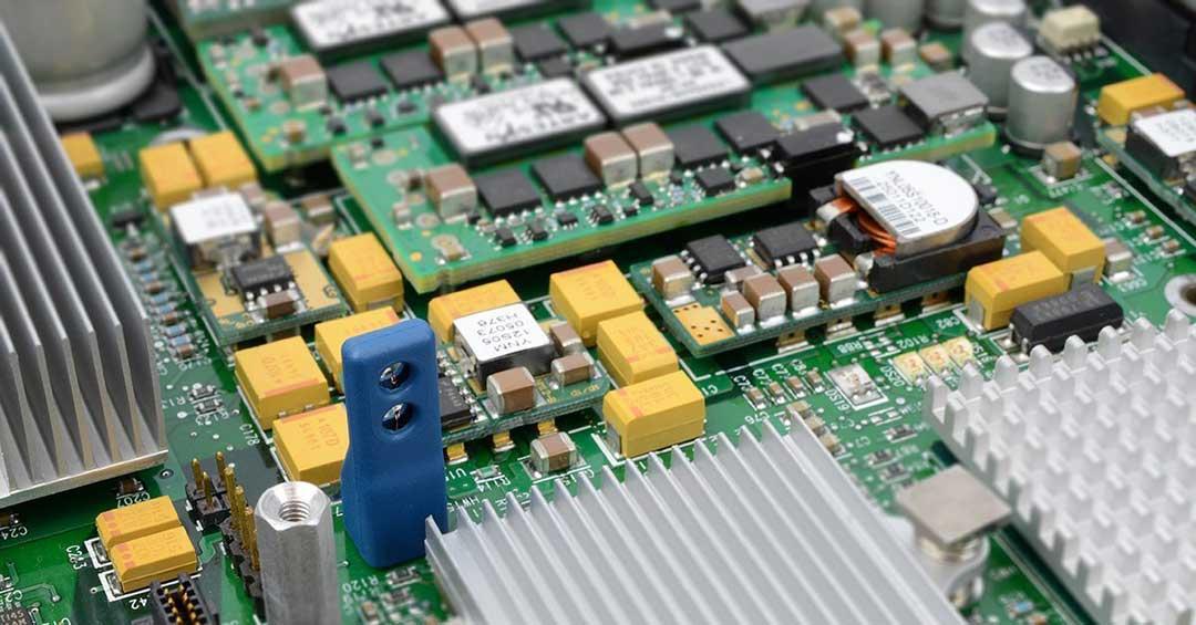 embedded air velocity sensor on pcb circuit board