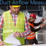 hvac duct airflow measurement