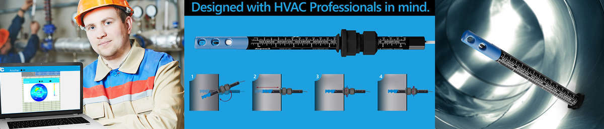 HVAC test tools made by DegreeC are next generation instruments that can monitor airflow, temperature, humidity and even pressure while providing data logging and reporting capability.