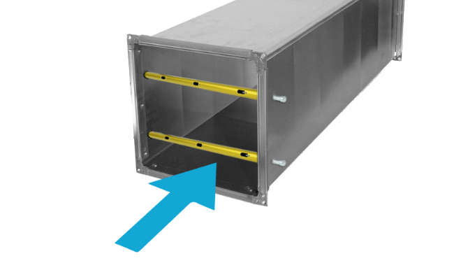 Pole Array Sensors minimize the time associated with measuring HVAC duct airflow because they take measurements at multiple points simultaneously.