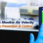 infection prevention with airflow monitoring