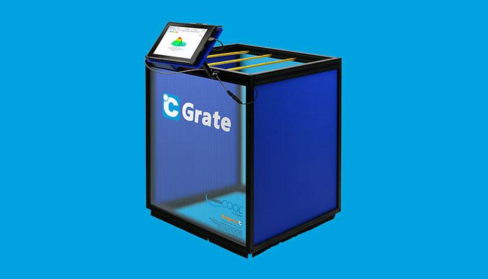 c grate volumetric airflow measurement