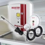 rooster airflow alarm for fume hood use