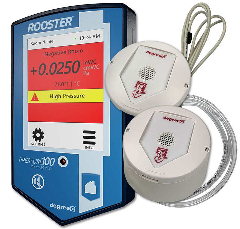 rooster pressure100 with sensor