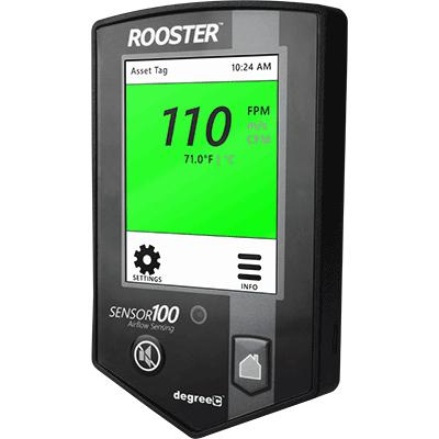 rooster sensor100 angle