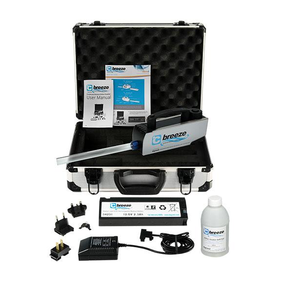 C Breeze smoke generator wand kit comes with everything you need for smoke wand testing.