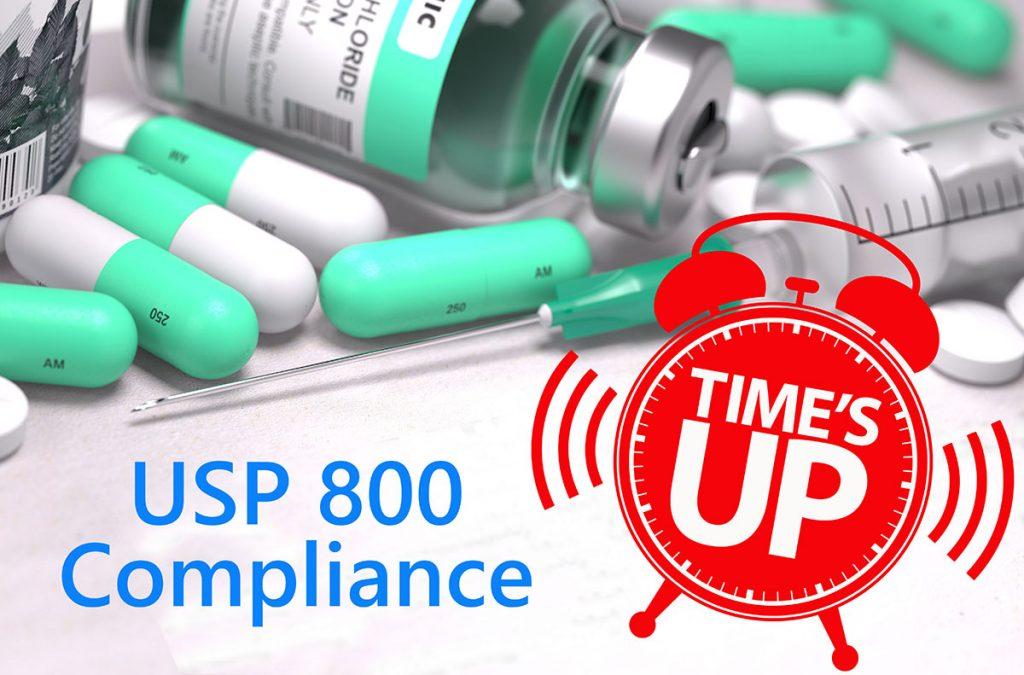 USP 800 compliance for pharmacies