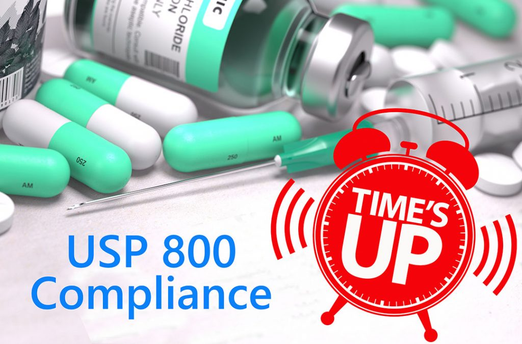 usp 800 compliance - time is up