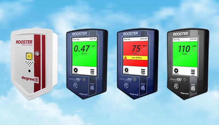 airflow alarms and monitors
