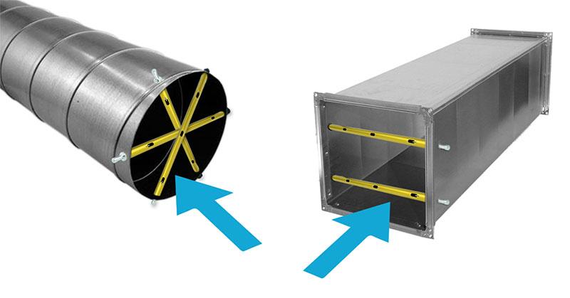 illustration of airflow through ventilation