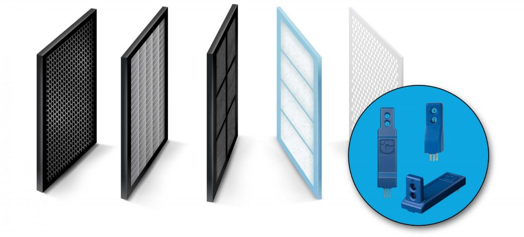 Air cleaners and air purifiers can be improved by adding board mount airflow sensors.