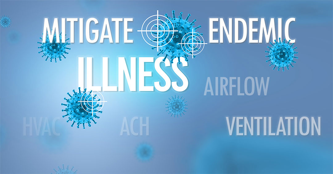 mitigating endemic diseases with airflow