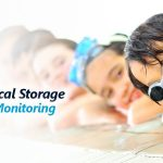 pool chemical storage and air velocity monitoring