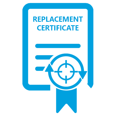 replacement calibration certificate