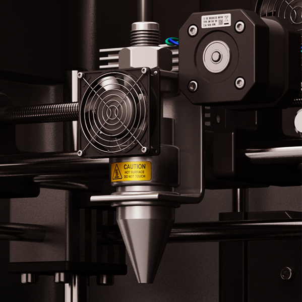 3D printing gas flow analysis as part of printer calibration