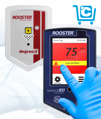 Accomplish airflow safety and compliance with Rooster™ monitoring