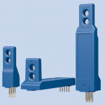 Board mount airflow sensors, pcb mount air velocity & temperature sensors